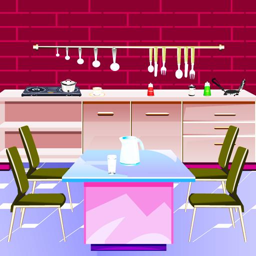 逃生粉红厨房