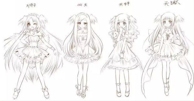 12星座所代表的美少女图