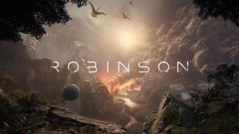 《罗宾逊:旅途》游戏截图