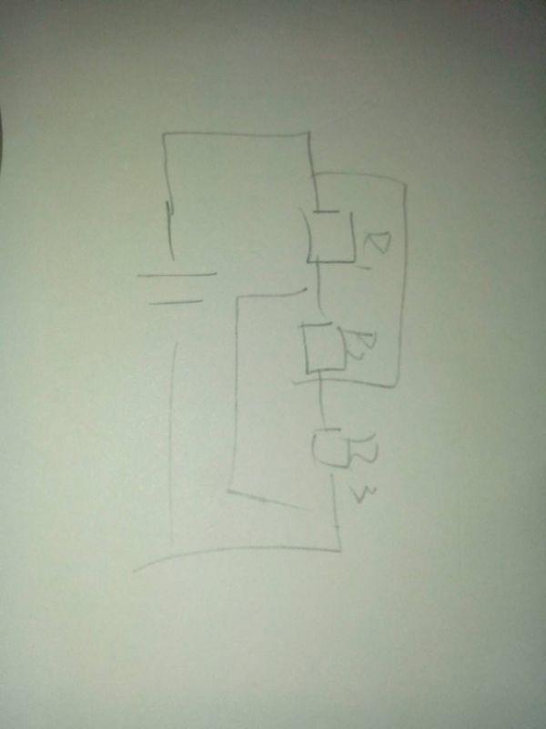 高中物理,请画出此图的等效电路图