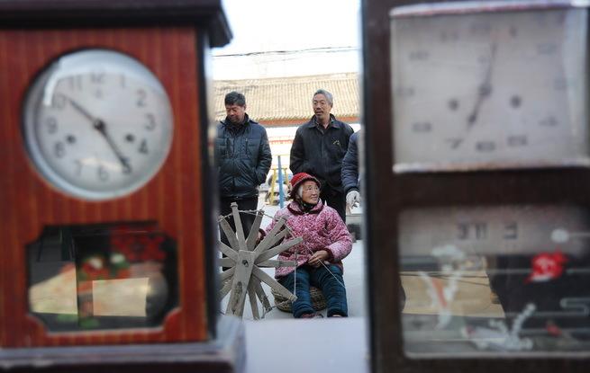 河南武陟:农村老物件展览见证40年生活变迁