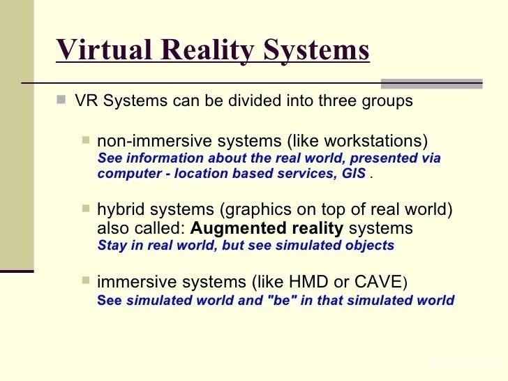 VR系统理论回顾