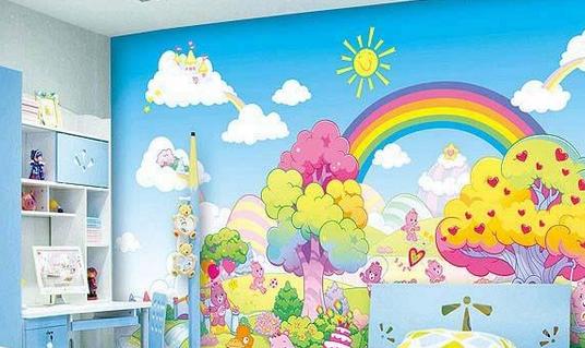 儿童房手绘墙颜料怎么选择?