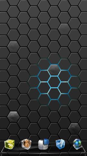 Next炫光蜂巢动态壁纸截图1