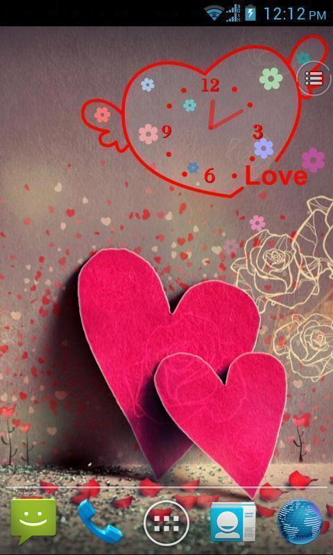 软件 壁纸主题 >心心相印动态壁纸  一片心是你,一片心是我,桃心可爱