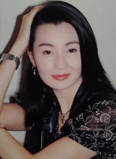 张曼玉,王祖贤《青蛇》宣传旧照曝光 两大女神又清纯又漂亮