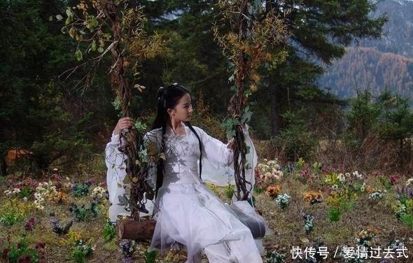 神雕中,武林公认第一美女,实力完爆小龙女,聪明才智完胜黄蓉