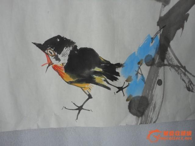 壁纸 动物 国画 鸟 鸟类 雀 640_480