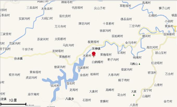东禅镇地图