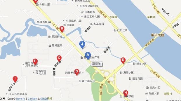 南宁江南大道河堤路电子路考在哪个地方?