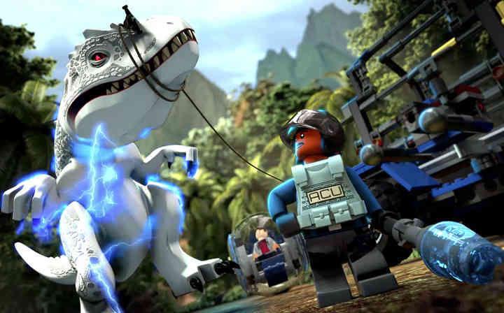 逃离恐龙的追捕 欢迎来到《乐高侏罗纪世界》