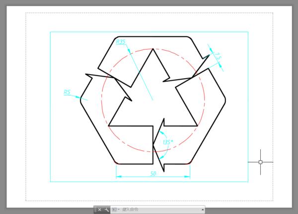 设置CAD布局视口修改放大的图,显示出来cad2013快捷键缩小图片