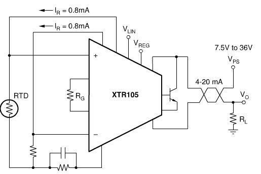 pt100的三线制接法其中一条是电阻一端,另两加是共用电阻的一端,如果