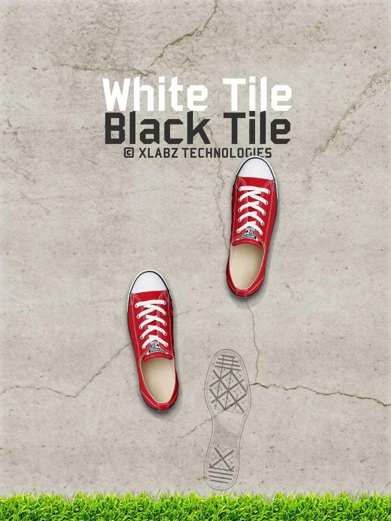 不要在白色瓷砖步骤!