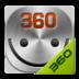360手机桌面-微笑