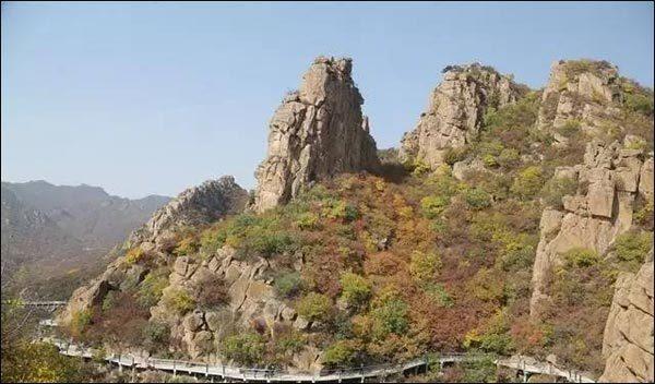 大黑山景区晋升成辽宁省北票市第一个4a景区