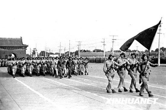 1949年中国开国大典阅兵式