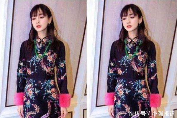 5位女星穿旗袍:热巴70分,赵丽颖90分,给她200分都不多
