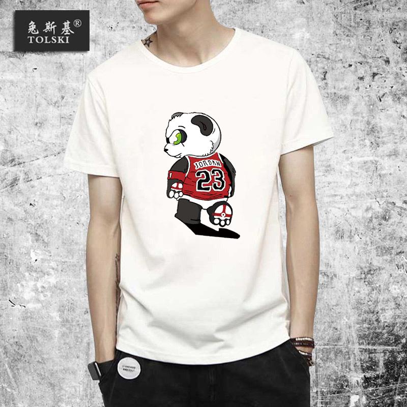 【运动短袖T恤】夏季青少年篮球宽松纯棉上衣