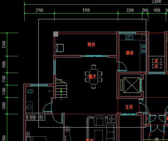 CAD迷你看图把中表放大_360v中表cad虚线什么图纸示图片