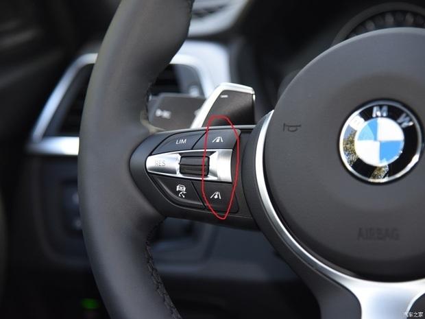 宝马3系方向盘车道标志按键什么功能