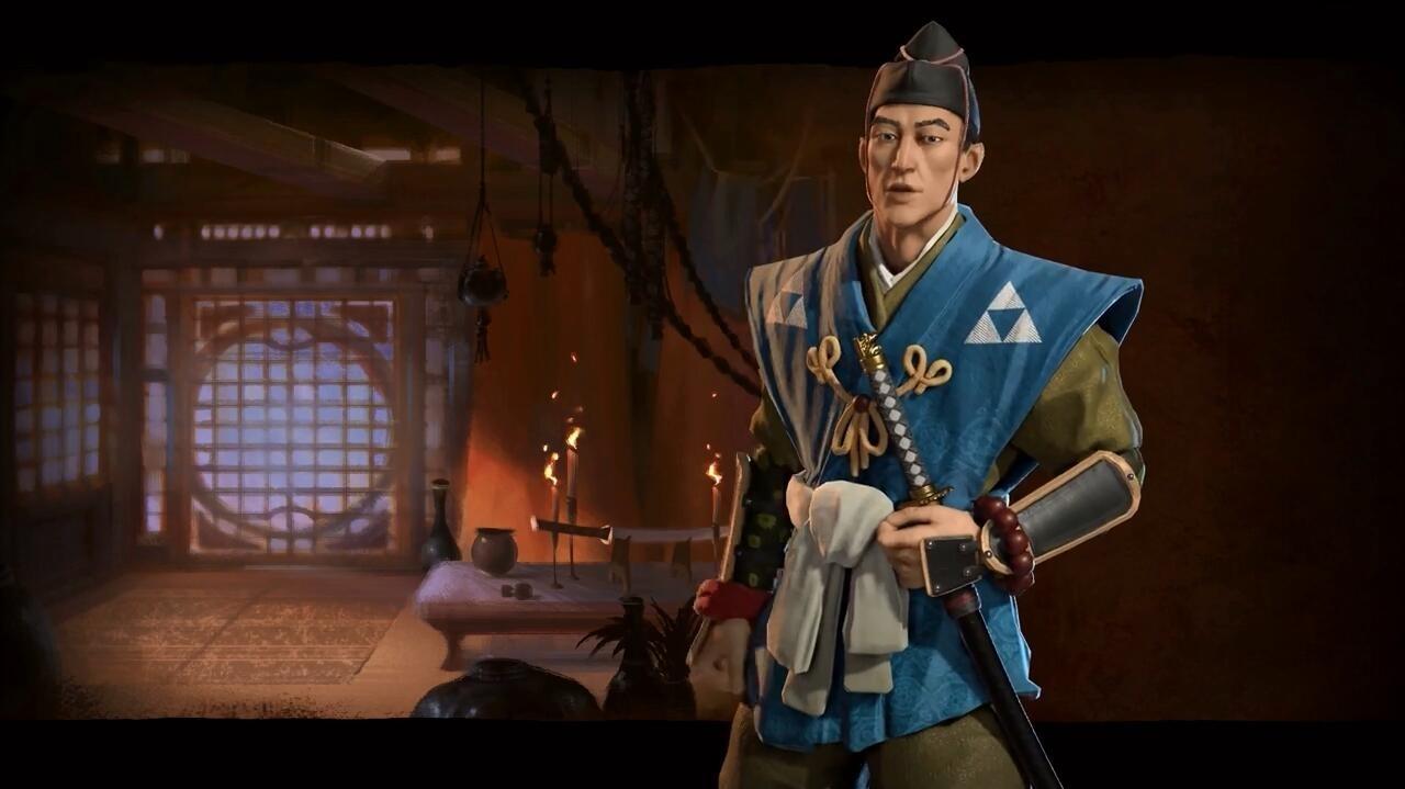 《文明6》日本势力简介