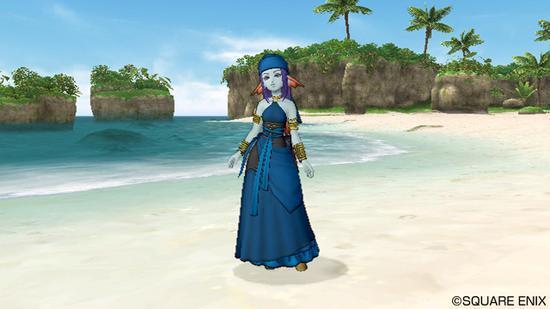 水妖族女性角色形象