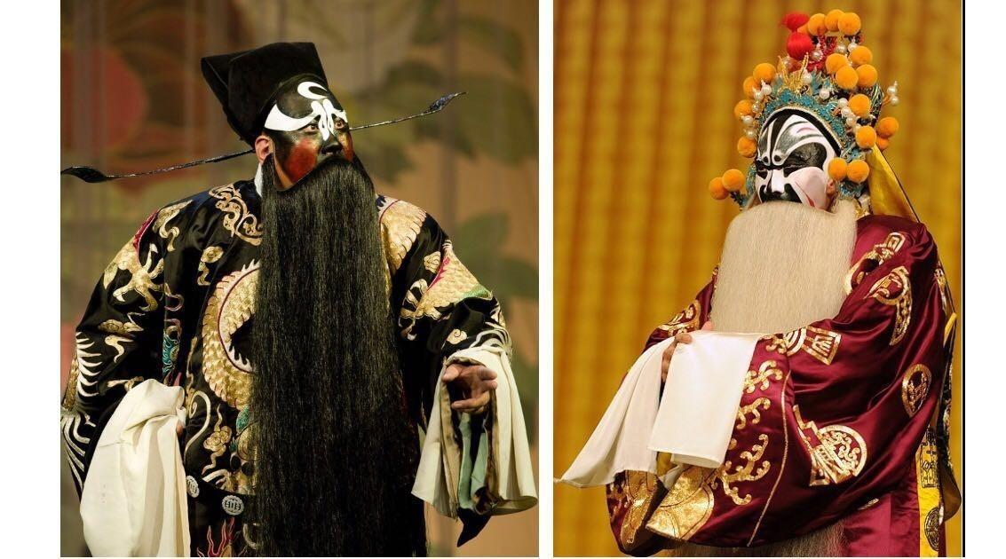 如《赵氏孤儿》中的魏绛(jiàng),《将相和》中的廉颇,《草桥关》中的
