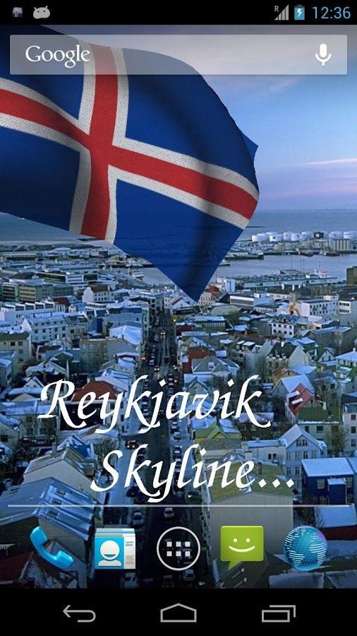 冰岛国旗动态壁纸 - 新浪应用中心