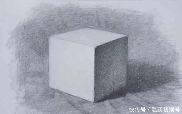 素描|新手应该怎么画正方体?