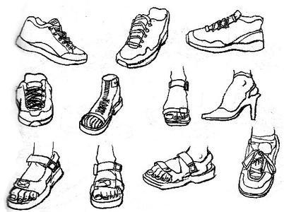 鞋子应该怎么画?