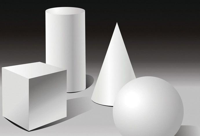 立体几何图形可以分为以下几类: 第一类:柱体;包括:圆柱和棱柱,棱柱