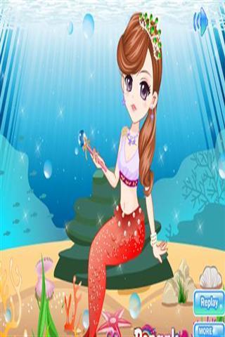 可爱的人鱼公主化妆下载