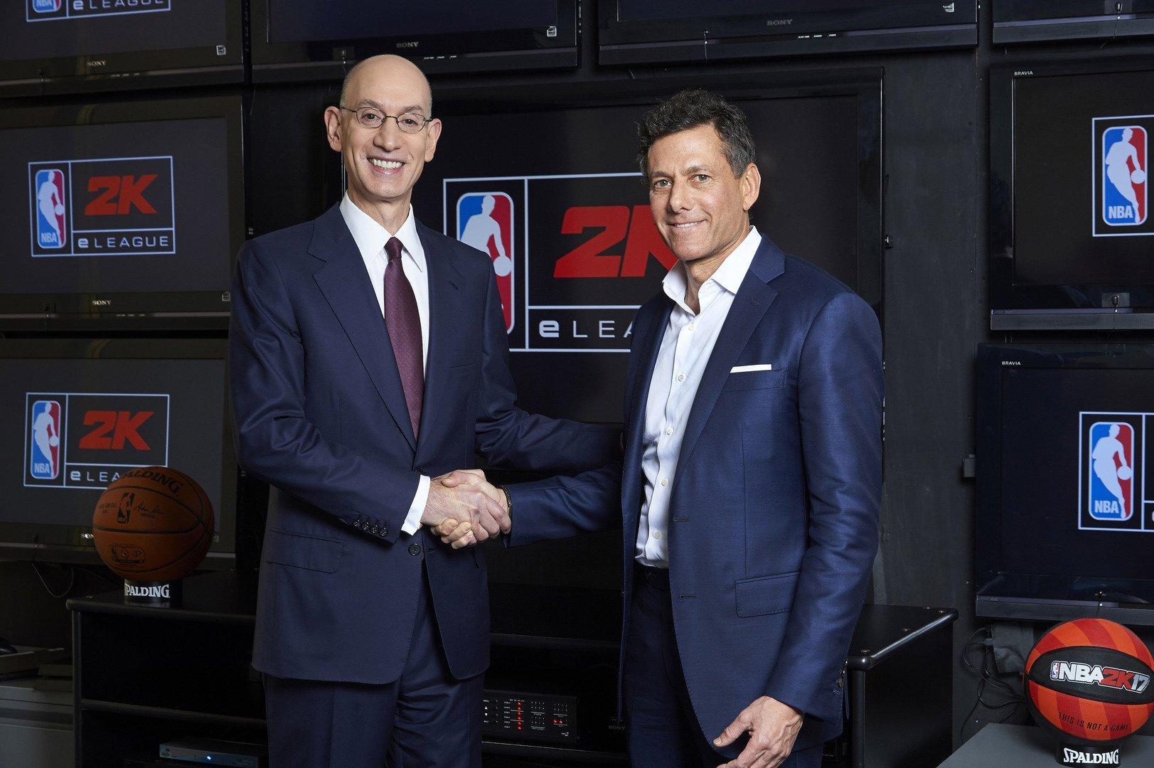NBA官方拟联合组建电竞赛事