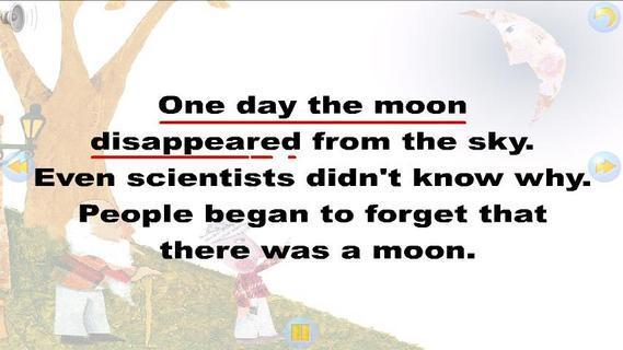 多多学英语 月亮怎么不见了下载