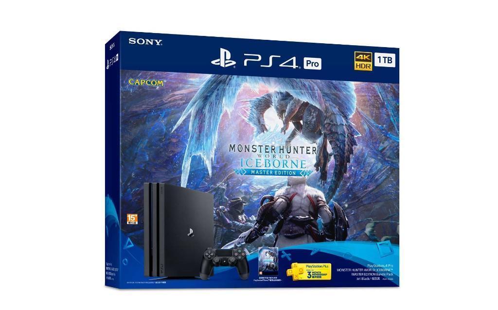 索尼推出《怪物猎人世界:冰原》同捆版PS4Pro售价约2920元