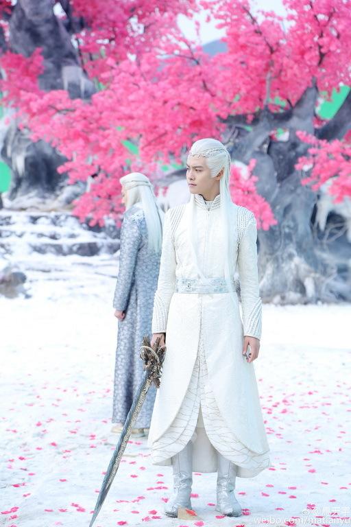 《幻城》电视剧樱空释诀别卡索