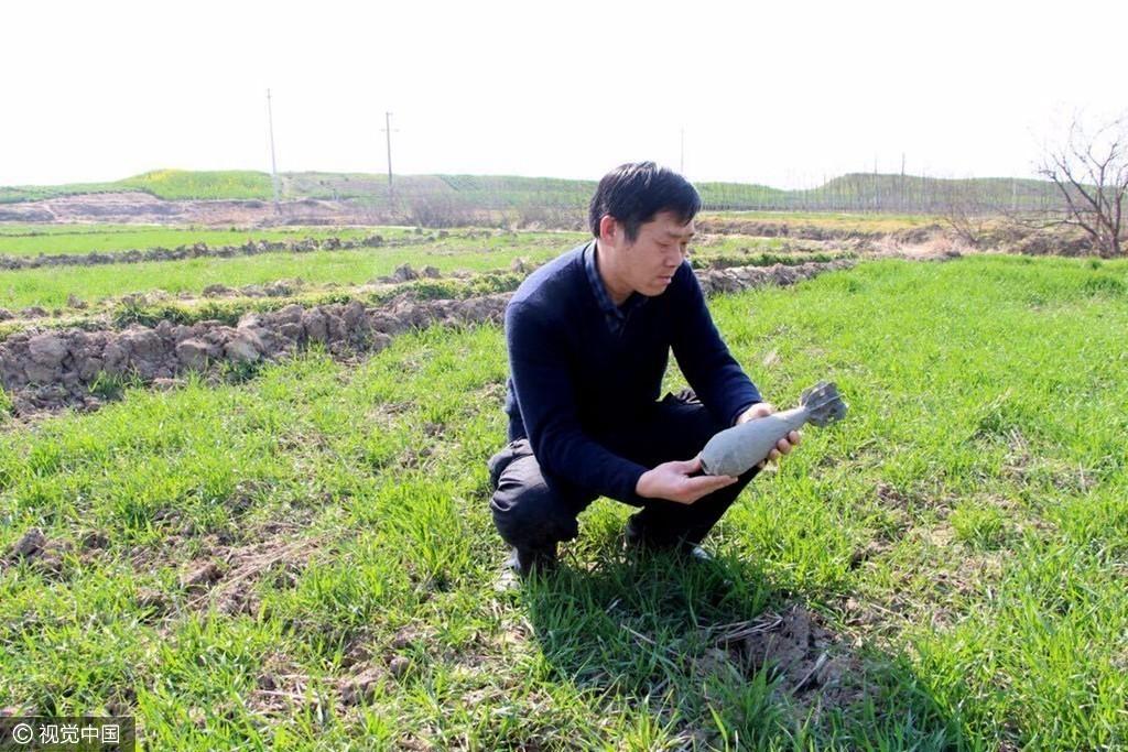 【转】北京时间     淤泥中惊现榴弹炮弹 吓傻清理农田的村民 - 妙康居士 - 妙康居士~晴樵雪读的博客