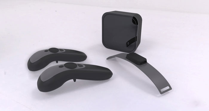 Caliber VR设备亮相