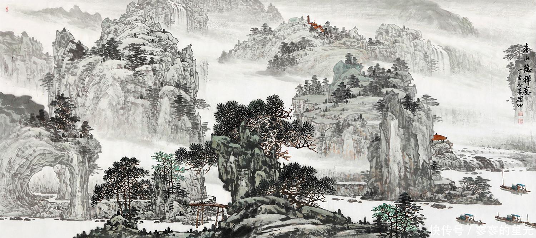 家居软装搭配有讲究,家居装饰画就得搭配山水画