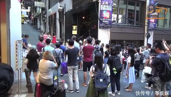 太常见!抖音网友在香港偶遇TVB明星拍戏,正常
