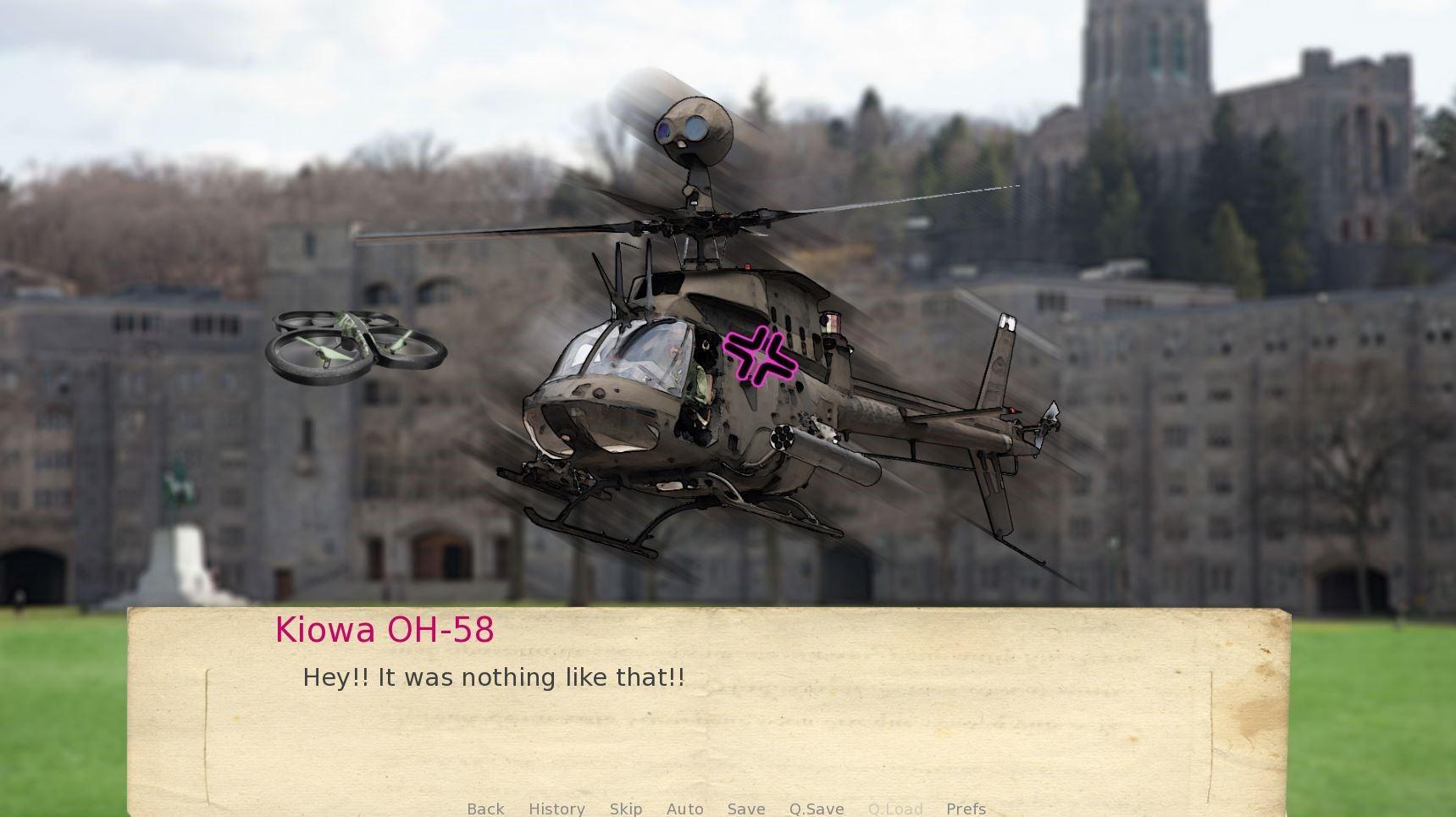《武装直升机恋爱模拟》登陆青睐之光