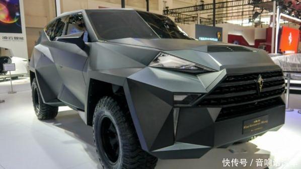 中国唯一的千万级别SUV!外形像钻石,全球仅12台被老外疯抢