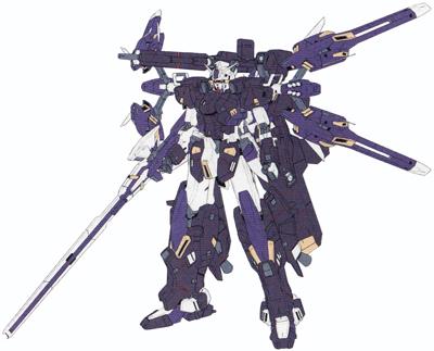 MSW-004全装型赤隼高达