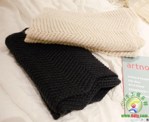 这是什么围巾织法_360问答