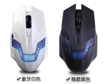 黑爵青蜂侠电竞专用鼠标(黑白随机)