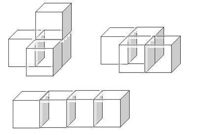 个小正方体摆成的立体图形怎么画图片