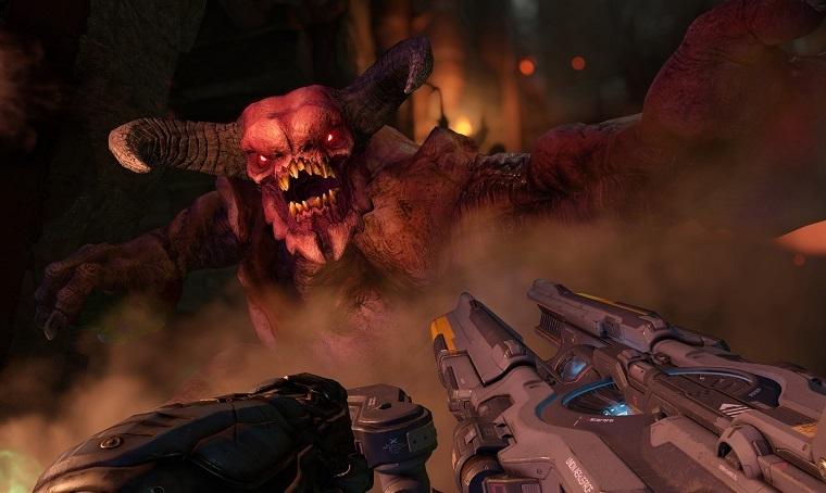 《毁灭战士4》游戏画面