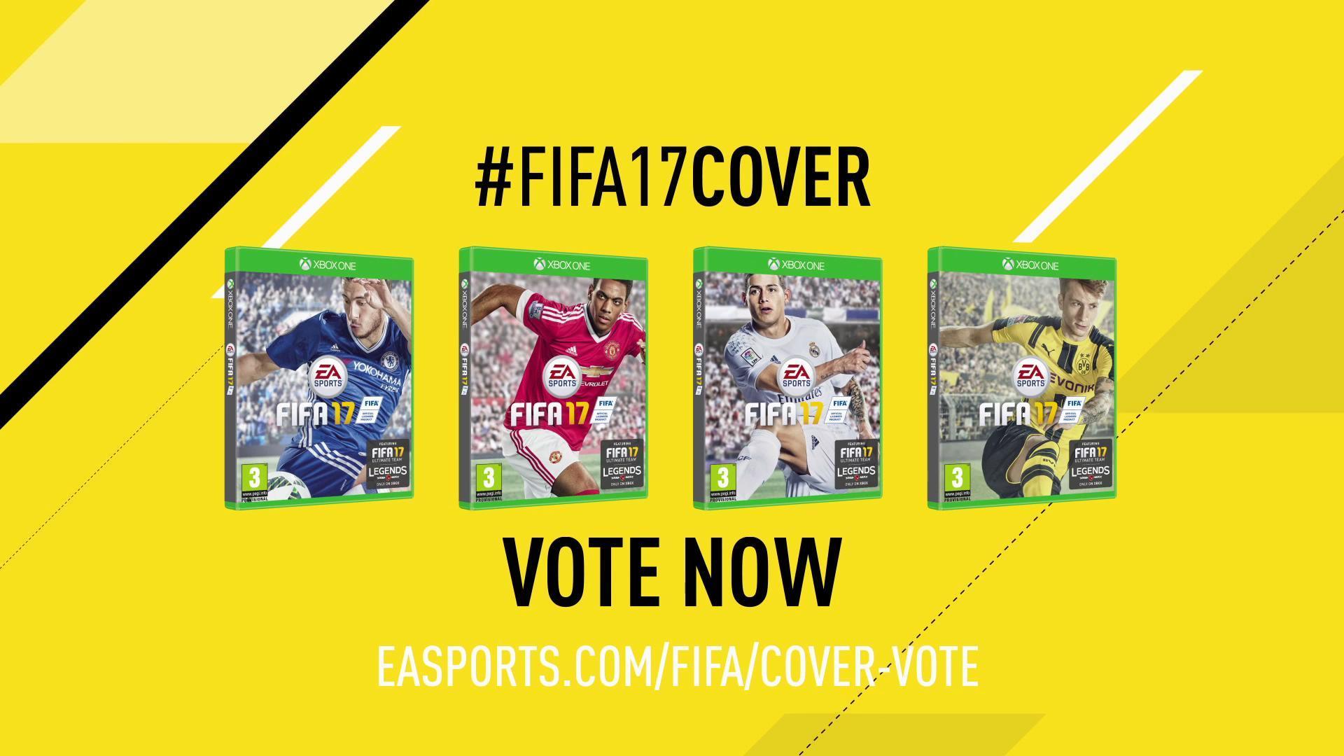 《FIFA 17》封面球星票选正式上线
