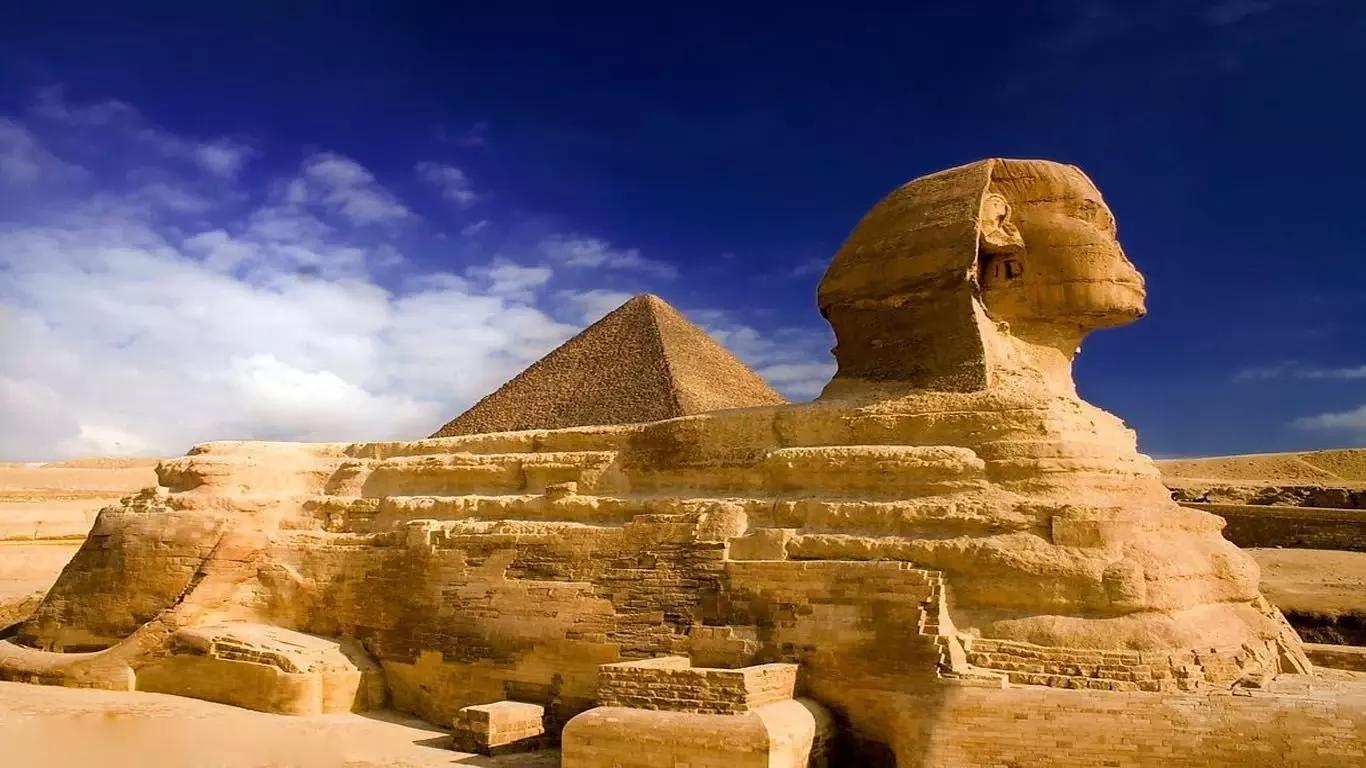 雅典卫城;非洲:埃及胡夫金字塔